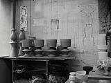 Rohvasen und Entwürfe von Margrit Linck - Bild: Linck Keramik