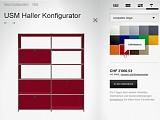 NEU! Konfigurieren Sie Ihr individuelles USM Möbelstück online!