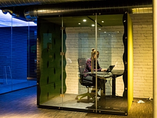 VANK Akustikkabinen - für mehr Ruhe im Büro