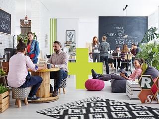 Frische Ideen für ein cooles office